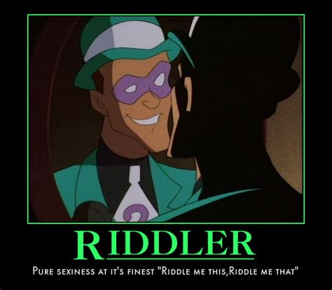 hey riddler by geniesmartass