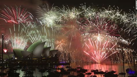 light firecrackers around the new year new year s celebrations around the world