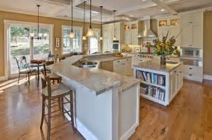 Homedepot Kitchen Island Traditional Kitchen With Complex Granite Counters