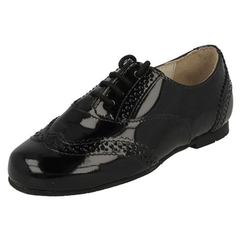 lace up school shoes startrite formal lace up school shoes fran ebay