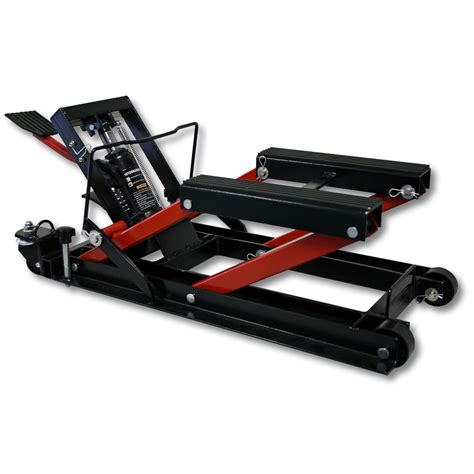 1500lb 680kg hydraulic motorcycle workbench lift bike atv