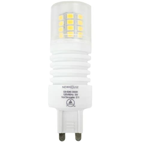 Newhouse Lighting 40 Watt Equivalent Soft White G9 Non Dimmable G9 Led Light Bulbs