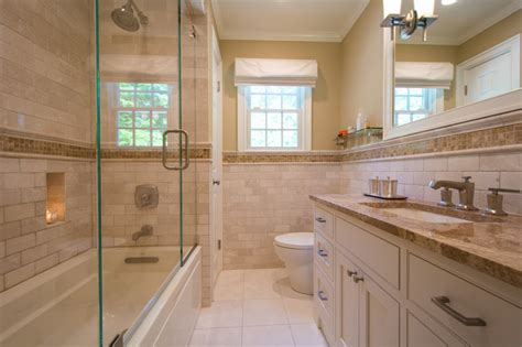 Images Of Backsplash For Kitchens Beautiful Custom Tumbled Botticino Marble Bath
