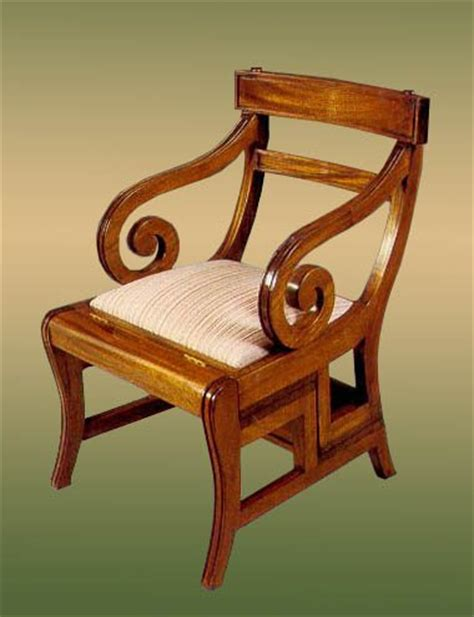 Library Chair Plans by Library Chair Ladder Plans Diy Free Modern