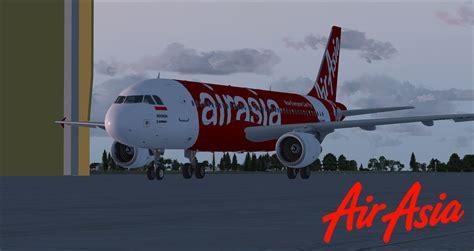 airasia add on airasia indonesia airbus a320 pk axz for fsx