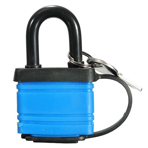 Gembok Magnet 40mm Glx Magnetic Padlock 40mm iron padlock waterproof heavy duty outdoor security shackle lock with 2 sale