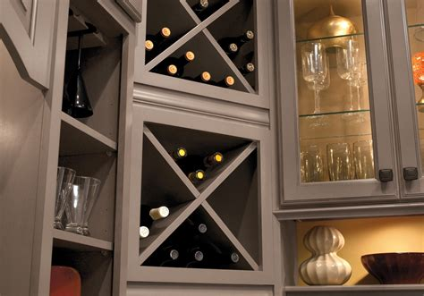 Kitchen Wine Rack Cabinet by Custom Cabinets Kabco Kitchens
