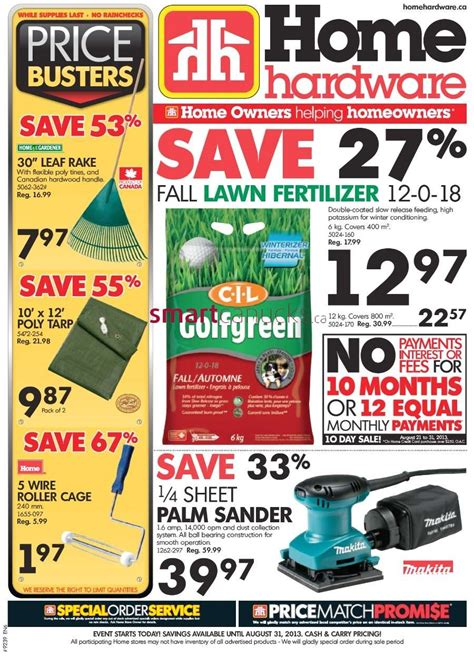 home hardware home hardware flyer august 21 to 31