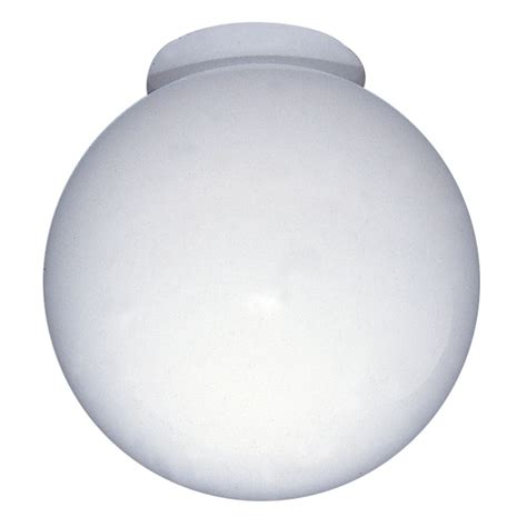 L Globes Home Depot shawson lighting 6 in globe glass with neck white finish