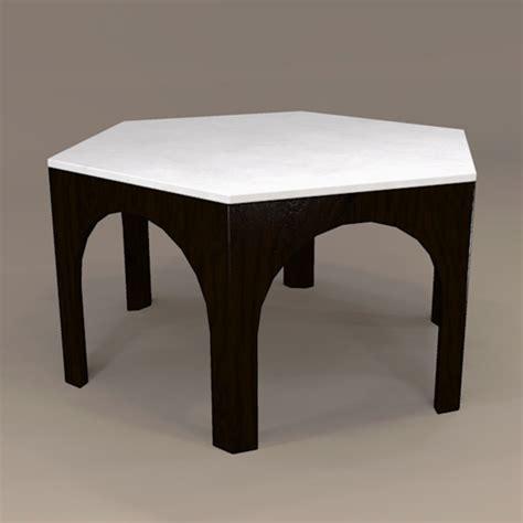 moroccan dining table 3d model formfonts 3d models