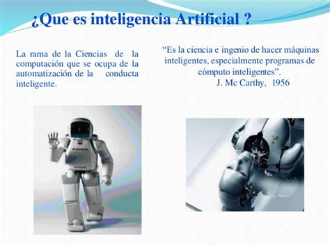 imagenes de robots inteligentes inteligencia artificial exposici 243 n ppt