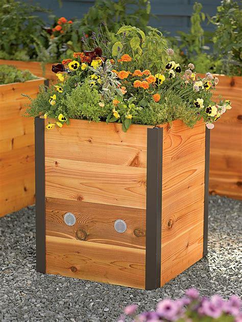 tall raised garden beds best 25 tall outdoor planters ideas on pinterest tall
