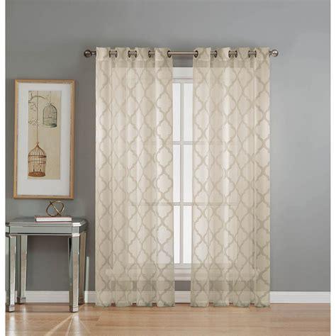 gossamer curtain grommet sheer curtain panels best home design 2018