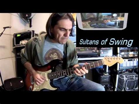 how to play sultans of swing on the guitar teste 2 strato axe fx ii backing track sultans of