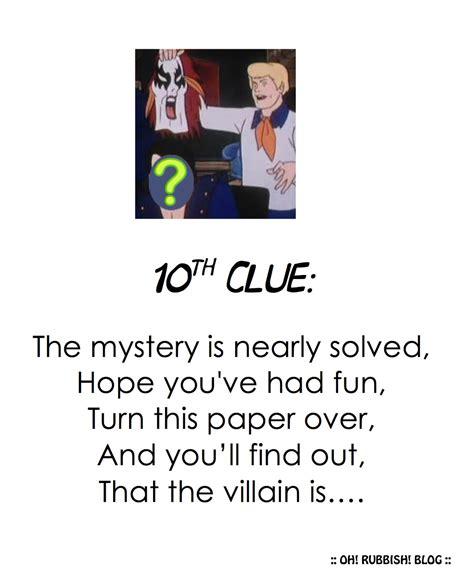 secret clues scooby doo ideas activities scooby