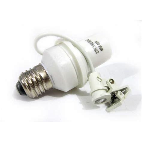 Kualitas Bagus Fitting Sensor Cahaya pasang fitting lu otomatis dengan sensor cahaya tenang meninggalkan rumah untuk bepergian