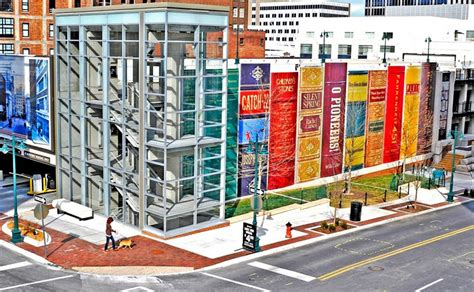 Garage Designs Ideas this library in kansas city is a giant bookshelf of 25