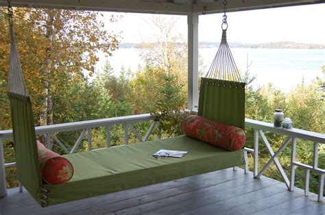 penobscot bay porch swings perfect for your c cottage or seaside home http www