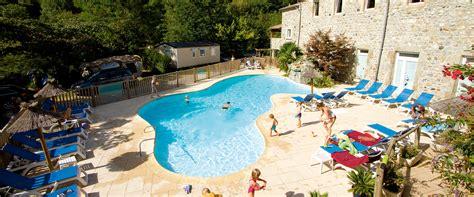 Domaine de la Plage Neyrac les bains Ardèche Camping et locations de gites, chalets et