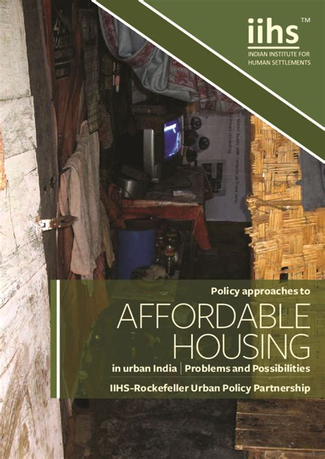Affordable Housing In India Research Paper by Learn Resources Smartnet