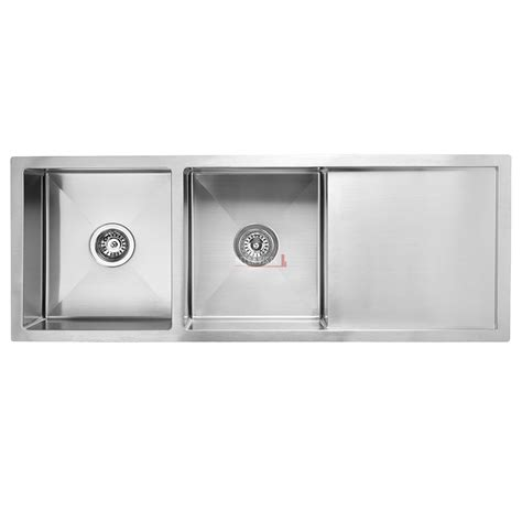 Double Bowl With Drainboard Stainless Kitchen Sink Bella Stainless Steel Kitchen Sinks With Drainboard