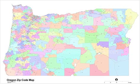 zip code maps oregon zip code map my