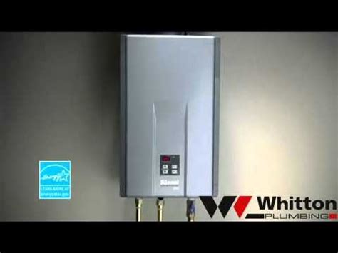Whitton Plumbing by Rinnai Tankless Water Heaters