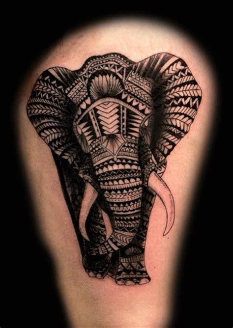 tatuajes originales elefante