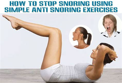 how to stop your from top 5 stop snoring exercises can stop your snoring certainly
