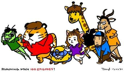Animal Character 02 animal characters of quot running quot members soompi