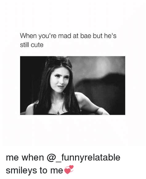 Are You Mad At Me Meme - when you re mad at bae but he s still cute me when smileys