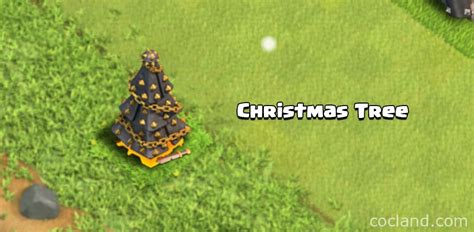 christmas tree clash of clans land