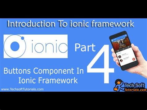 ionic framework tutorial youtube buttons component in ionic framework part 4 youtube