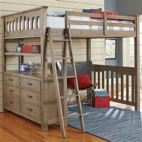 reclaimed grayson loft bed rosenberryroomscom