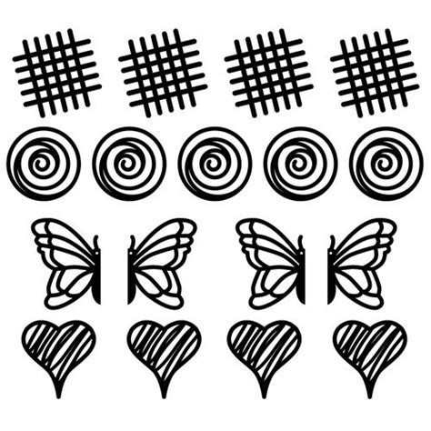 chocolate stencil templates l 233 ku 233 kit decomat tappeto in silicone trasparente
