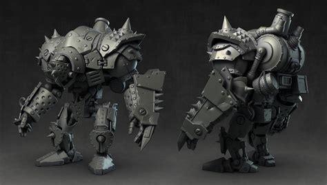 war machine zbrush tutorial art dump warmachine tactics characters movie tutorial
