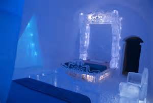 frozen room frozen comes to at city s hotel de glace