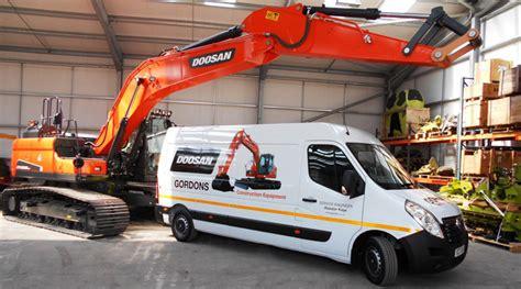 doosan lands  scottish dealer construction plant news