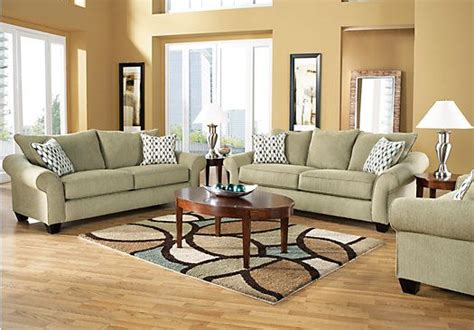 rooms to go living room sets shop for a park brooke sage 7 pc sleeper living room at
