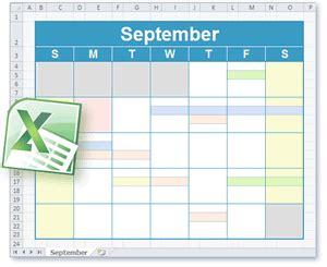 calendar  schedule templates