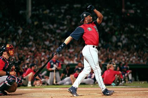 ken griffey jr swing ken griffey jr won t be a unanimous selection for the
