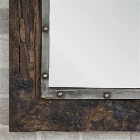 Wooden Sleeper by Wooden Sleeper Mirror By Decorative Mirrors Notonthehighstreet