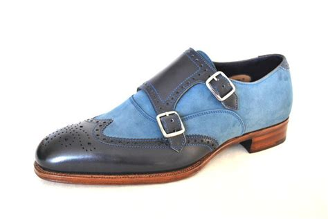 Shoe Of The Week Shoewawa 9 by Shoes Of The Week Blue Two Tone Brogues By Alfred