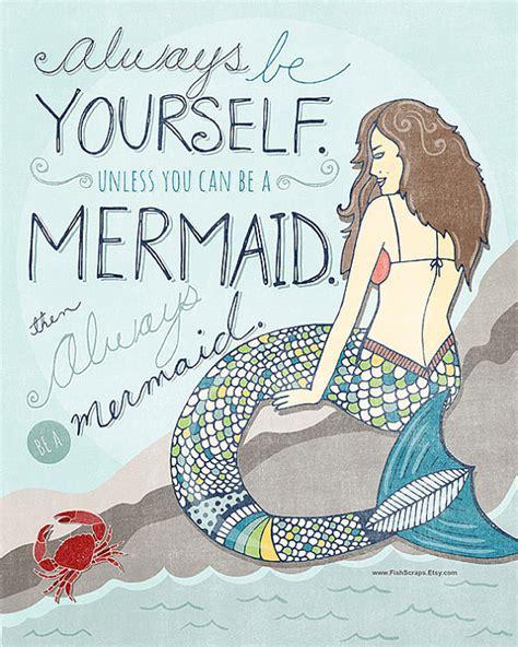 printable mermaid art mermaid beach quotes quotesgram
