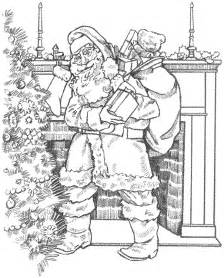 Christmas coloring pages for adults wallpapers9