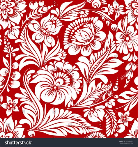 red white pattern vector vector seamless red white pattern abstract stock vector