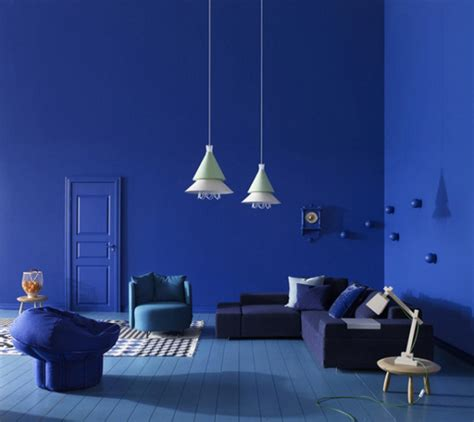 interesting blue color schemes for living room