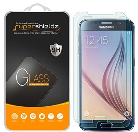 Tempered Glass Samsung Galaxy S6 Screen Guard Anti Gores Kaca S6 1 2 pack samsung galaxy s6 tempered glass screen protector