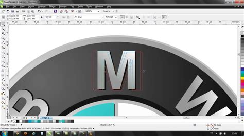 how to design a logo in coreldraw x6 corel draw x6 logo bmw bmw mp4 youtube