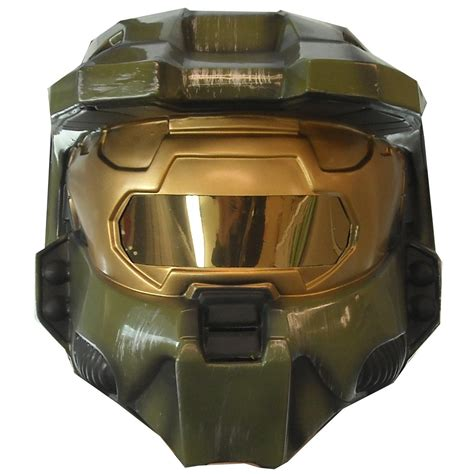 How To Make A Master Chief Helmet Out Of Paper - halo master chief 2 helmet mask costume